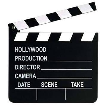 Movie Set Clapboard picture