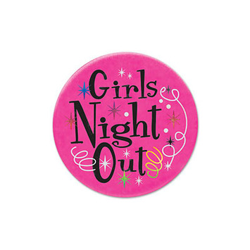 Girls' Night Out Satin Button picture