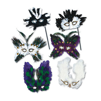 Ultima Fanci-Feather Masks picture