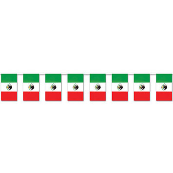 Mexican Flag Pennant Banner picture