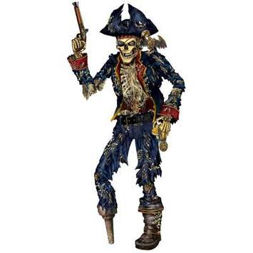 Jointed Pirate Skeleton picture
