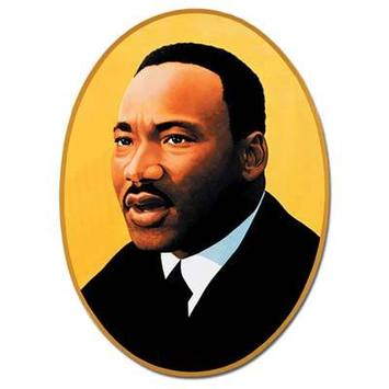 Martin Luther King Jr Cutout picture