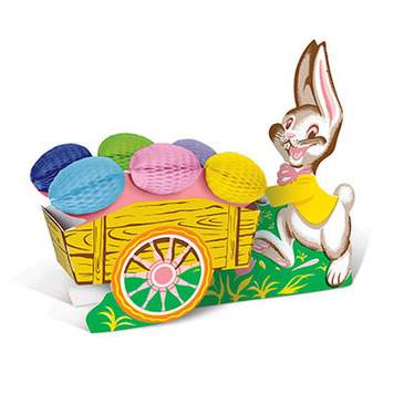 Vintage Easter Bunny w/Cart picture