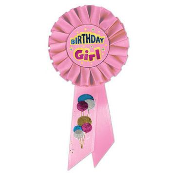 Birthday Girl Rosette picture