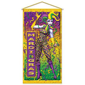Mardi Gras Door/Wall Panel picture