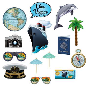 Bon Voyage Photo Fun Signs picture