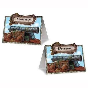 Pirate Cannon Place Cards picture