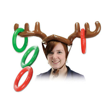 Inflatable Reindeer Ring Toss picture