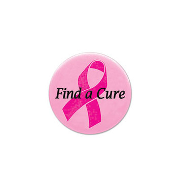 Find A Cure Satin Button picture