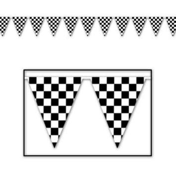 Checkered Pennant Banner picture