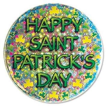 Happy St Patrick's Day Button picture