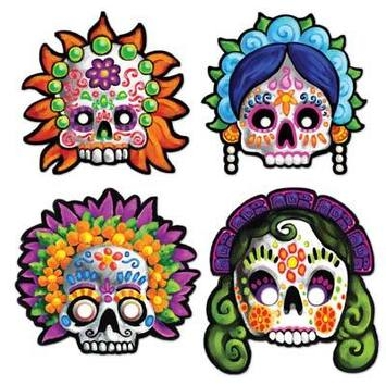 Day Of The Dead Masks picture