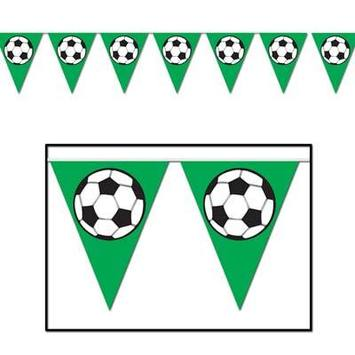 Soccer Ball Pennant Banner picture