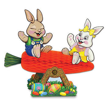 Carrot Seesaw w/Bunnies picture