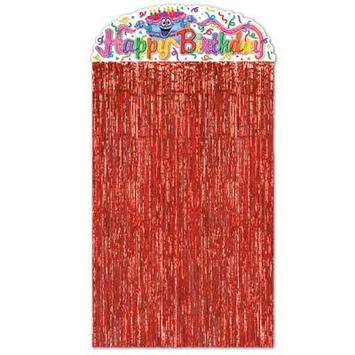 Birthday Cake Character Curtain picture