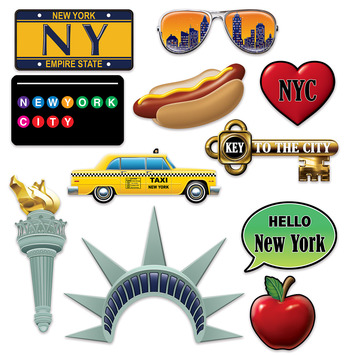 New York City Photo Fun Signs picture
