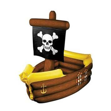 Inflatable Pirate Ship Cooler picture