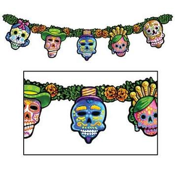Day Of The Dead Streamer picture
