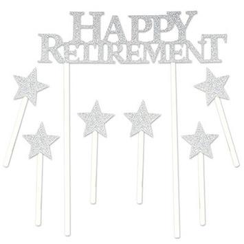 Happy Retirement Cake Topper picture