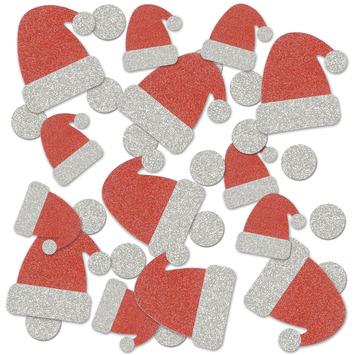 Santa Hat Deluxe Sparkle Confetti picture
