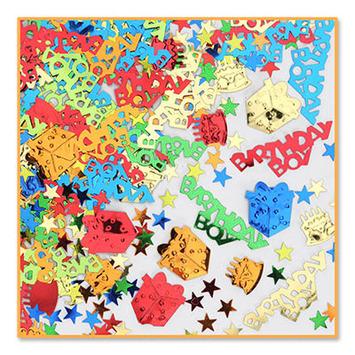Birthday Boy Confetti picture