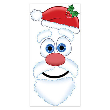 Santa Face Door Cover picture
