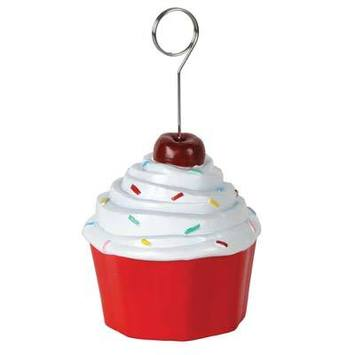 Cupcake Photo/Balloon Holder picture