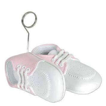 Baby Shoes Photo/Balloon Holder picture
