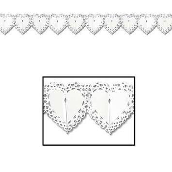 Lace Heart Garland picture