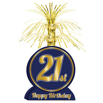 21st Birthday Centerpiece picture