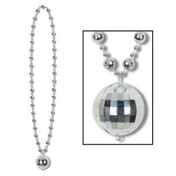 Disco Ball Beads w/Disco Ball Medallion picture