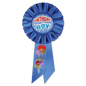 Birthday Boy Rosette picture