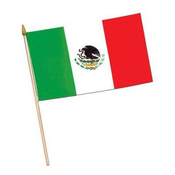 Mexican Flag - Fabric picture