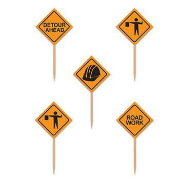 Construction Signs Picks picture