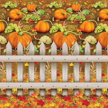 Pumpkin Patch Backdrop picture