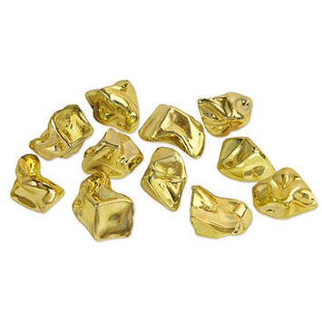 Plastic Gold Nuggets picture