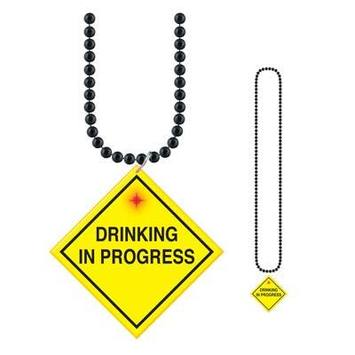 "Beads w/""Drinking In Progress"" Medallion picture"