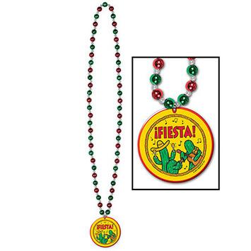 Beads w/Fiesta! Medallion picture