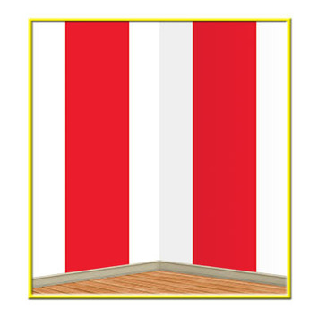Red & White Stripes Backdrop picture