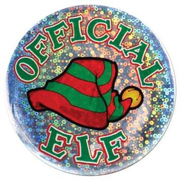 Official Elf Button picture