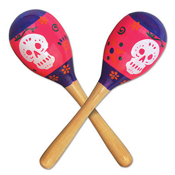 Day Of The Dead Maracas picture