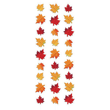 Deluxe Fabric Autumn Leaves Stringers picture