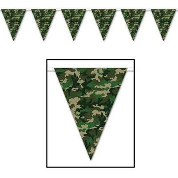 Camo Pennant Banner picture