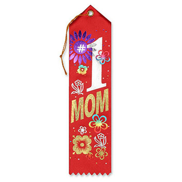 #1 Mom Award Ribbon picture