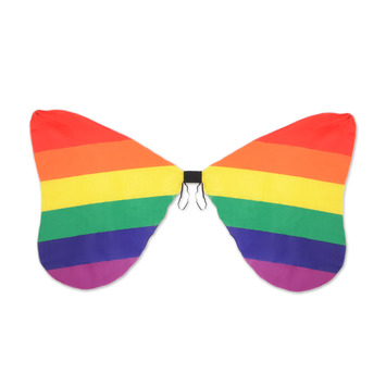Fabric Rainbow Wings picture
