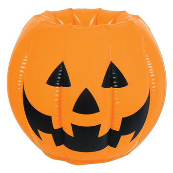 Inflatable Jack-O-Lantern Cooler picture
