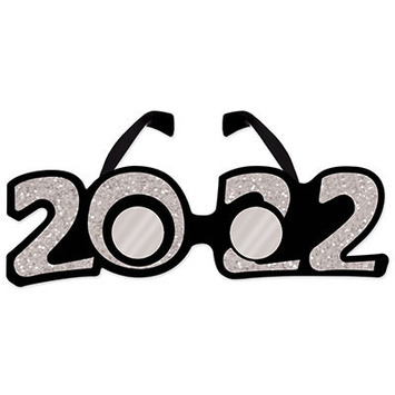"""2022"" Glittered Plastic Eyeglasses picture"