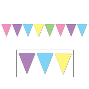 Pastel Pennant Banner picture