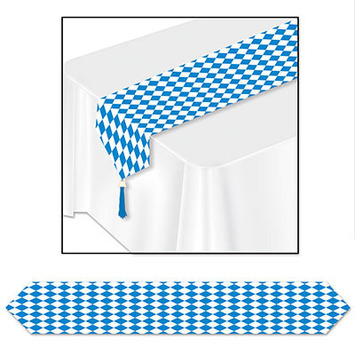 Printed Oktoberfest Table Runner picture