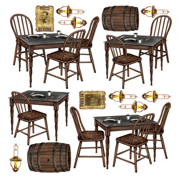 Saloon Table Props picture